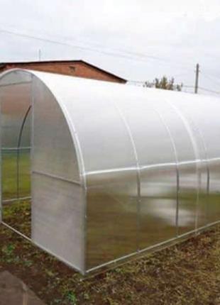 Теплица Садовод Агро 300х600х200 см с сотовым поликарбонатом 8...