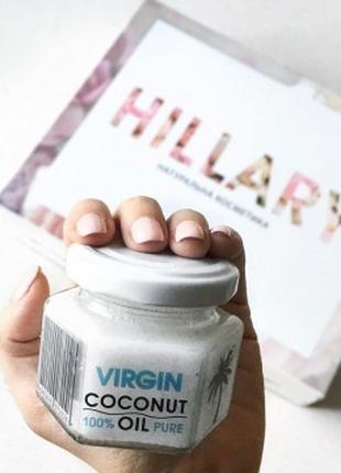 Нерафинированное кокосовое масло Hillary Virgin Coconut Oil 10...