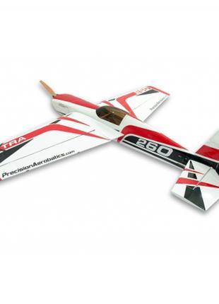 Самолёт Precision Aerobatics Extra 260 Kit на радиоуправлении ...