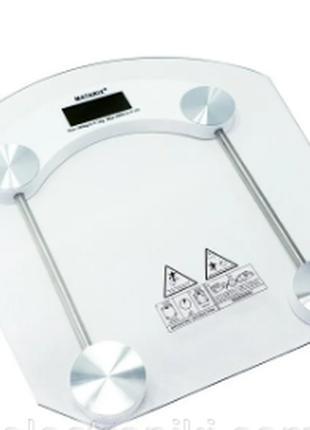 Стеклянные напольные весы MATARIX MX-451B до 180кг