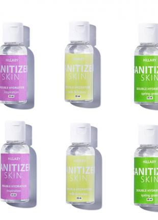 Антисептики Санитайзеры HiLLARY Skin Sanitizer Double Hydratio...