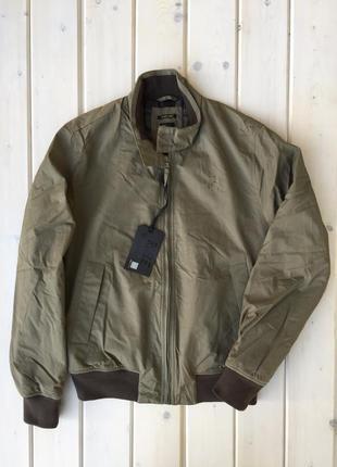 Демисезонная мужская куртка цвета хаки от rifle