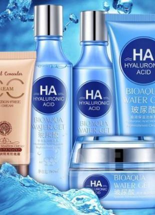 Набор для увлажнения кожи Bioaqua Hyaluronic acid SKL67-284217