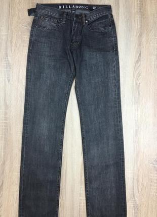Темно-серые мужские джинсы от billabong
