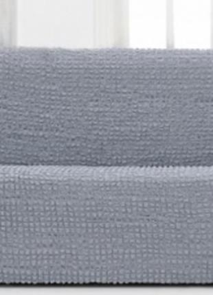 Накидка на диван 22 серая SKL11-292093
