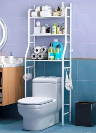 Стеллаж для хранения напольный туалетный шкаф регулируемый по ...