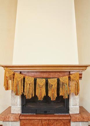 Декор,макраме, гирлянда, декор для дому, аксесуари, декор в ди...