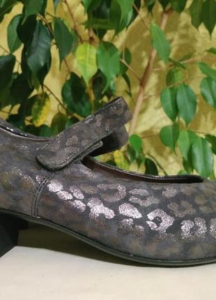 Waldlaufer шикарные туфли, балетки как новые, ортопедические т...