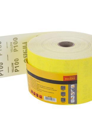 Шлифовальная бумага рулон 115ммх50м P100