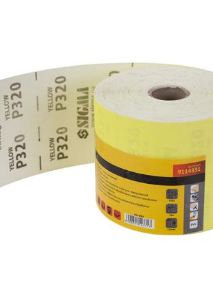 Шлифовальная бумага рулон 115ммх50м P320