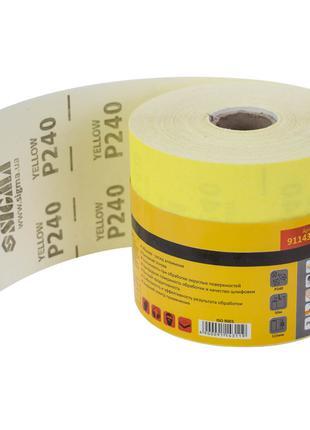 Шлифовальная бумага рулон 115ммх50м P240