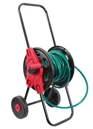 """Катушка на колесах для шланга 1/2"""" 45м. PP, steel, ABS"""
