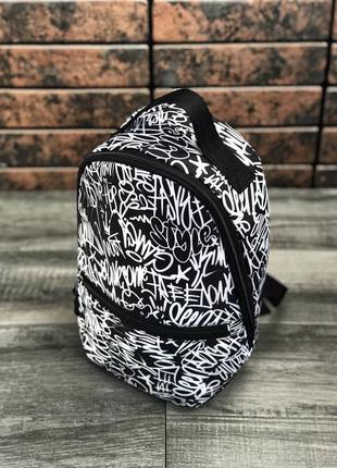 Детский рюкзак,принт,городской рюкзак граффити