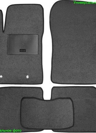 Коврики ворсовые в салон Belmat на Honda Accord 7 2003-08 серые
