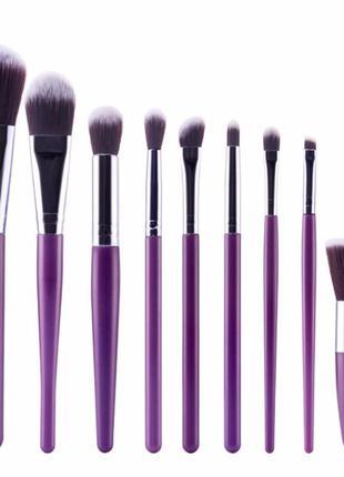 Набор кистей для макияжа - 9 кистей на все случаи жизни