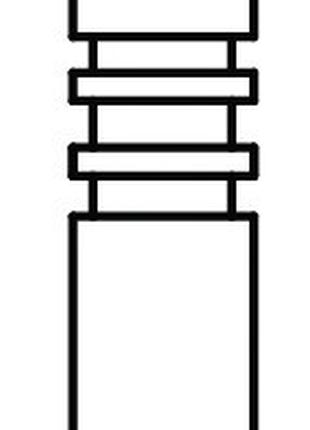 Клапан двигателя впускной