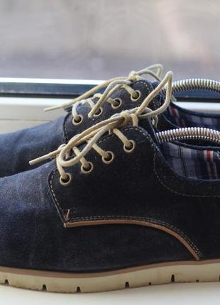 Туфли, мокасины натуральный замш young spirit