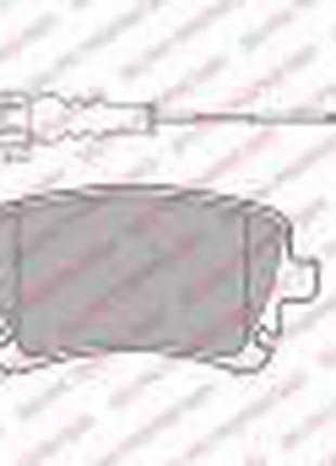 Колодки тормозные задние Фольксваген Транспортер Т5,Ауди А6 С6...