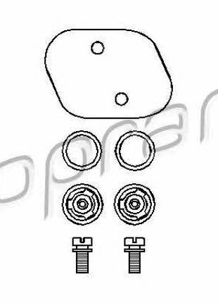 Ремкомплект вакуумного насоса (поршня, мембрана) VW Golf, Pass...