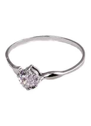 Девичье колечко из серебра «прелесть»