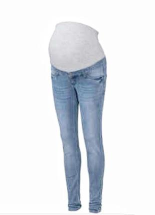 Джинсы для беременных голубые esmara, р-р 38/  s.