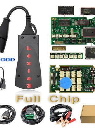 Диагностика Lexia 3 PP2000 Full V7.83 Авто сканер  Citroen Peugeo
