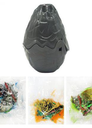 """Игрушка-сюрприз """"Дракон"""", серый 50947/50948"""