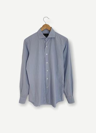 Рубашка сорочка massimo dutti мужская клетка