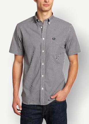 Рубашка сорочка fred perry мужская клетка