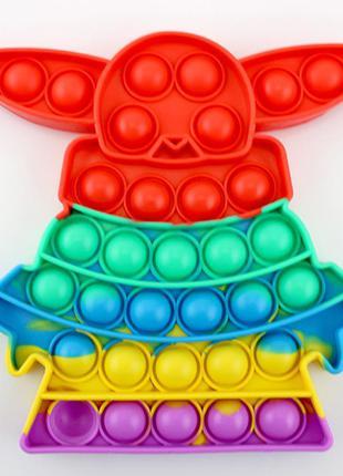 Игрушка для детей pop it мастер йода. опт/розница.