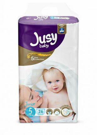 """Детские подгузники """"Jusy junior"""" 5 (11-25 кг) Jjunior26"""