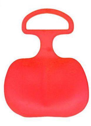 Уценка. Санки-Ледянки (красный) - маленькая дырка в санях 1318