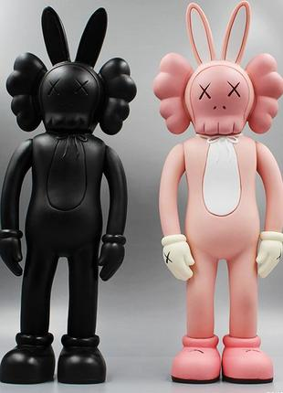 Коллекционная фигурка Kaws Pink / Black Rabbit Companion