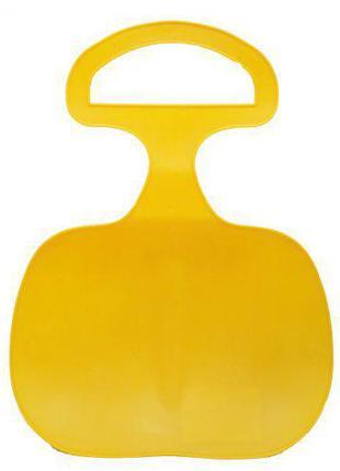 Санки-ледянка, 43 см, желтый 180001U