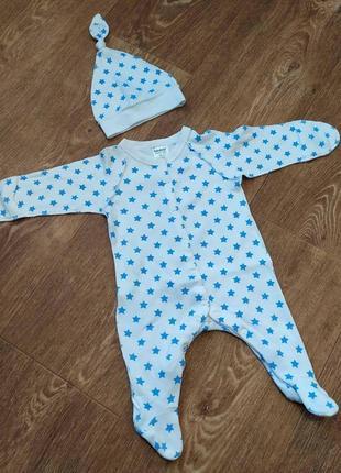 Человечек  с шапочкой-узелком для новорожденного малыша.