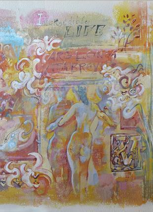 Роспись интерьера в Николаеве, профессиональный художник.