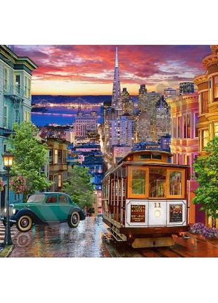Пазл Касторленд 500 (3391) Трамвай в Сан-Франциско 68 * 47 см