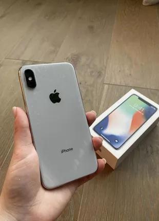IPhone X Silver 256gb