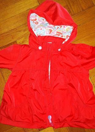 Класна легенька курточка від h&m на 4-6 міс