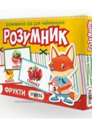 Маленький умник STRATEG 30303 Фрукты 28х19 5х3 (рус.)