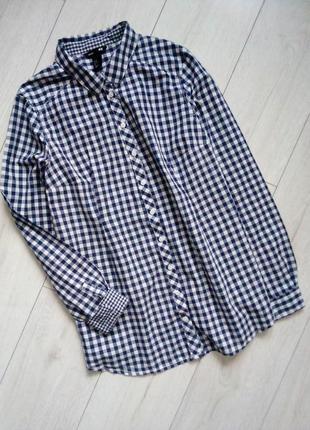 Стильная рубашка для будущей мамы