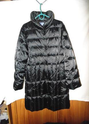 Пальто зимнее пуховик натуральный пух be made in italy оригина...