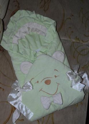 Конверт для выписки одеяло