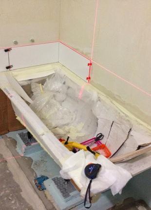 Ремонт в Вашей ванной комнате.