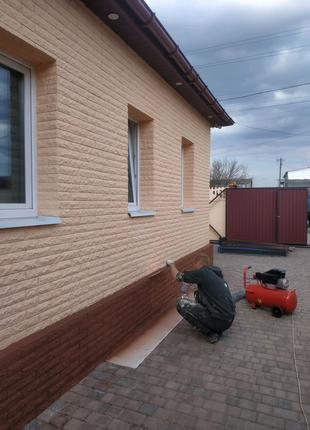 Утепление фасадов Днепр