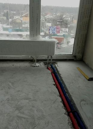 Установка и замена радиаторов