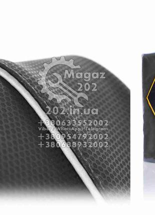 """Чехол сиденья ЯВА 350 (634) 6V черный, светоотражающий кант """"S..."""