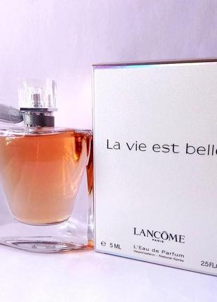 Lancome La Vie Est Belle_Оригинал EDP_5 мл затест_парф.вода