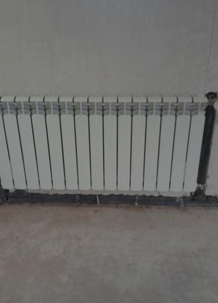 Установка\замена радиатора отопления в городе Киеве.
