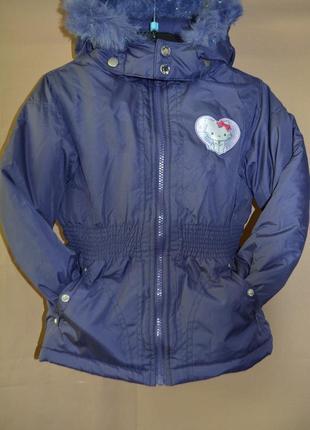 Куртка детская disney германия евро зима размер 6 лет